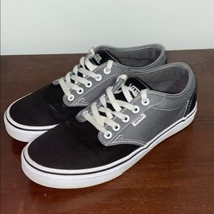Pewter/Black Vans